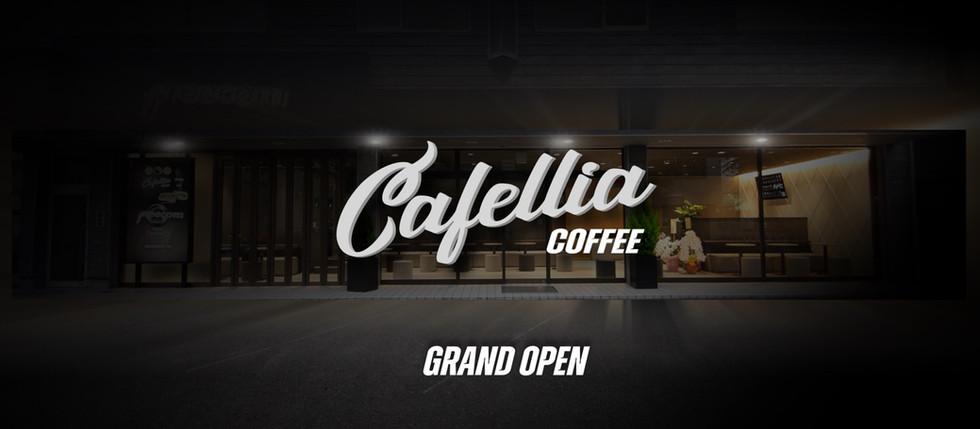 新コンセプトカフェ、Cafellia、本日グランドオープン。