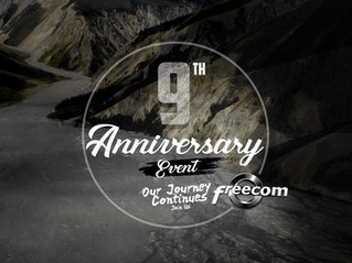 Freecom 9th Anniversary Dinner