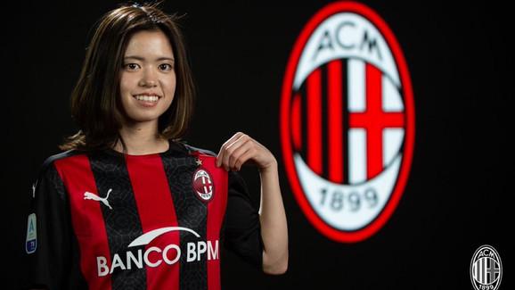 Yui Hasegawa to AC Milan