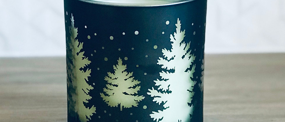 Christmas Forest Black & Green