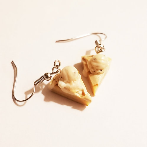 Apple Pie A la Mode Earrings