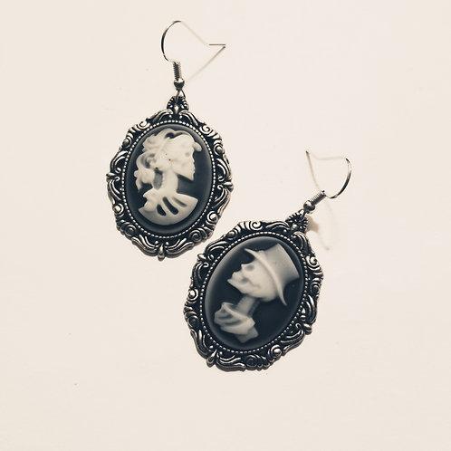 Skellie Cameo Earrings