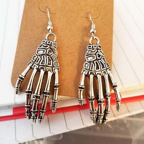 Skellie Hands Earrings