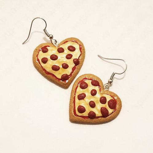 Pizza Love Earrings