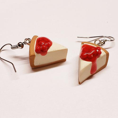 Cherry Cheesecake Earrings