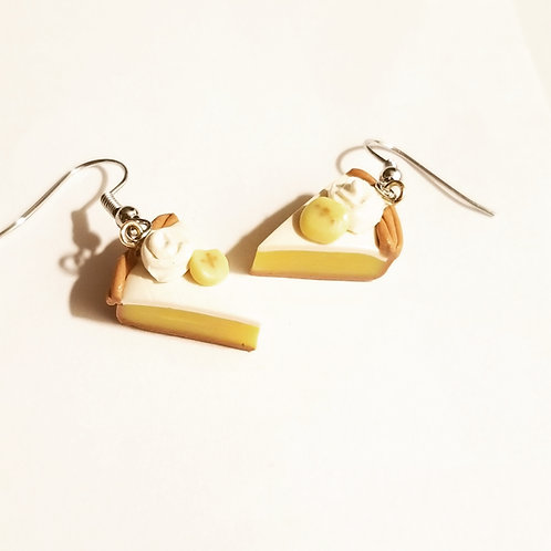 Banana Cream Pie Earrings