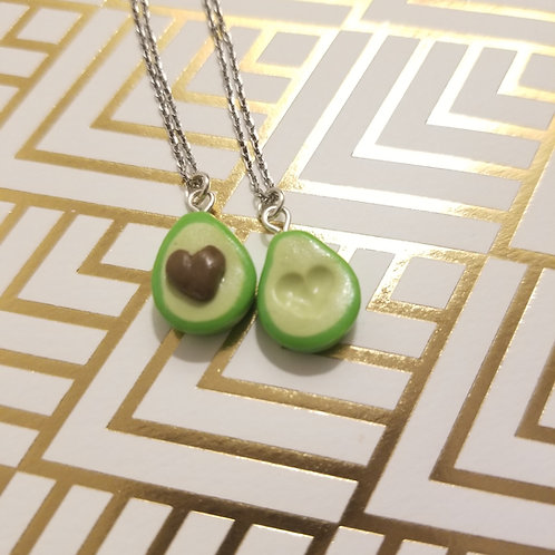 Mini Avocado Friendship Necklaces
