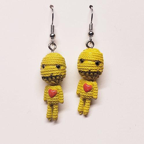 Love Him Yellow Earrings