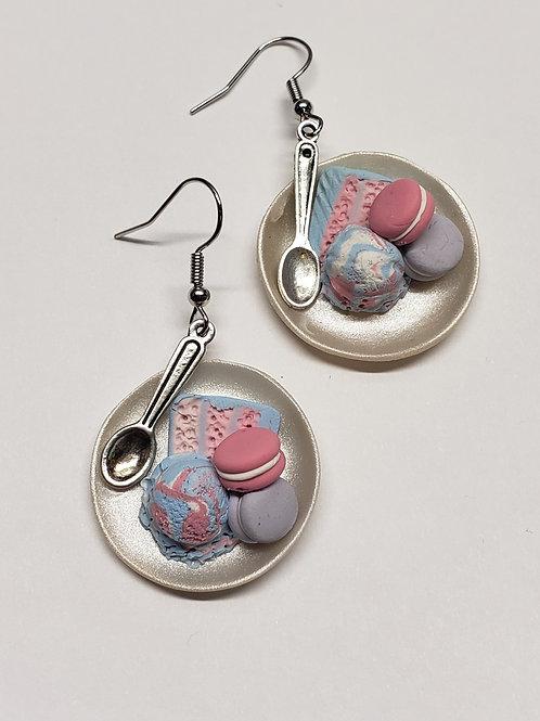 Pastel Treat Tray Earrings