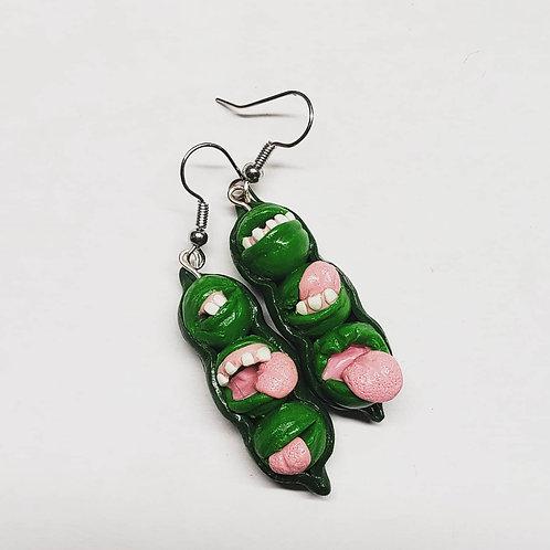 Freaky Peas Earrings