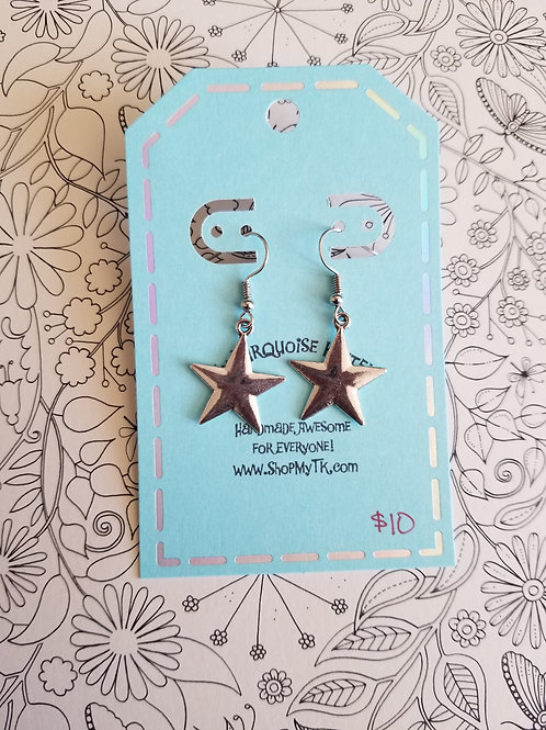 Simple Star Earrings