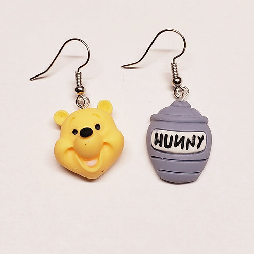 Hunny Bear Earrings