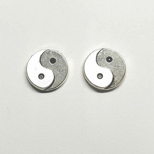 Ying/Yang Stud Earrings