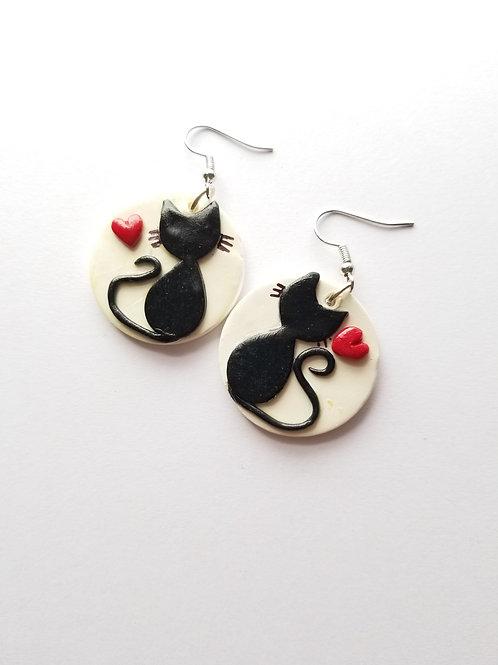 Meow & You Earrings