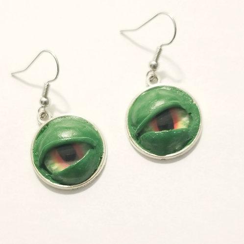 Creepy Eyes - Green & Red