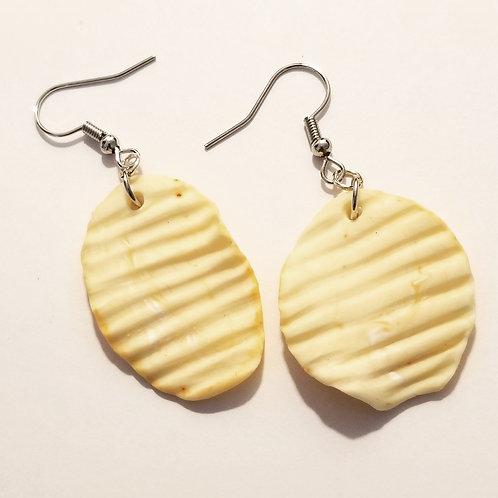 Potato Chip Earrings