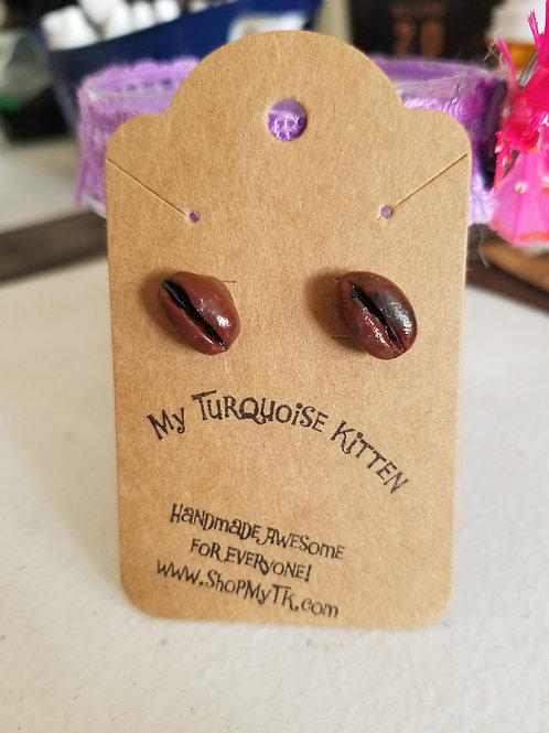 Coffee Beans Earrings