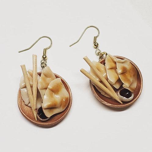 Pot Sticker Earrings