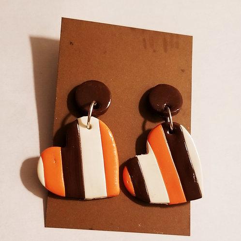 Home Team Love Earrings