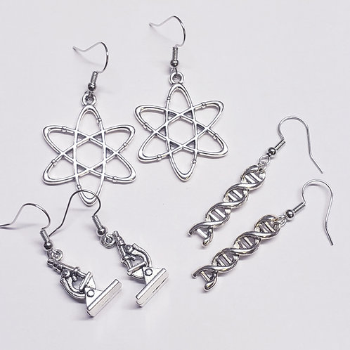 Backed by Science- 3 Piece Earring Set