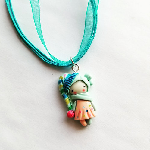 Seasonal Princess Necklace and Charm