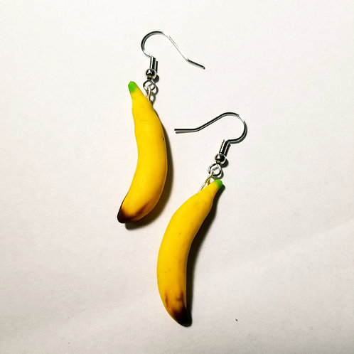 Single Banana Earrings