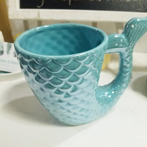 Mermaid Fin Mug