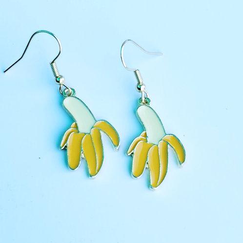 Banana Charm Earrings