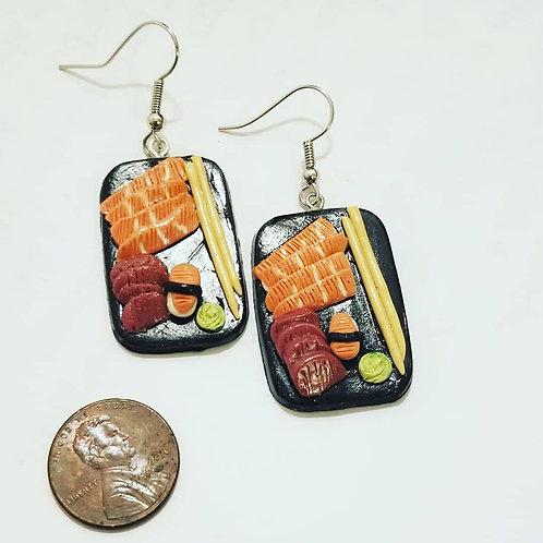 Sashimi Platter Earrings
