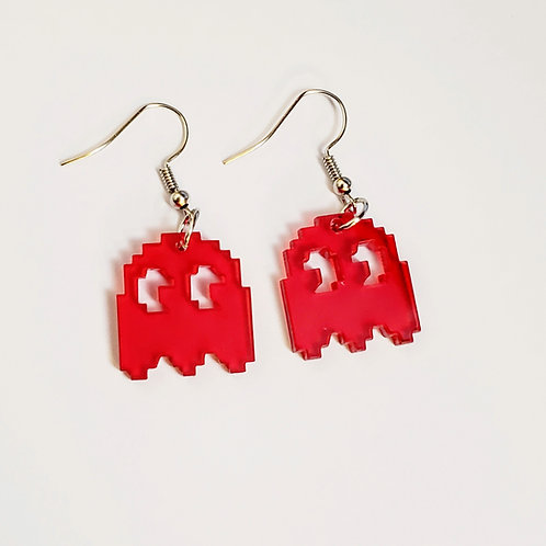 8-Bit Mania Red Ghost