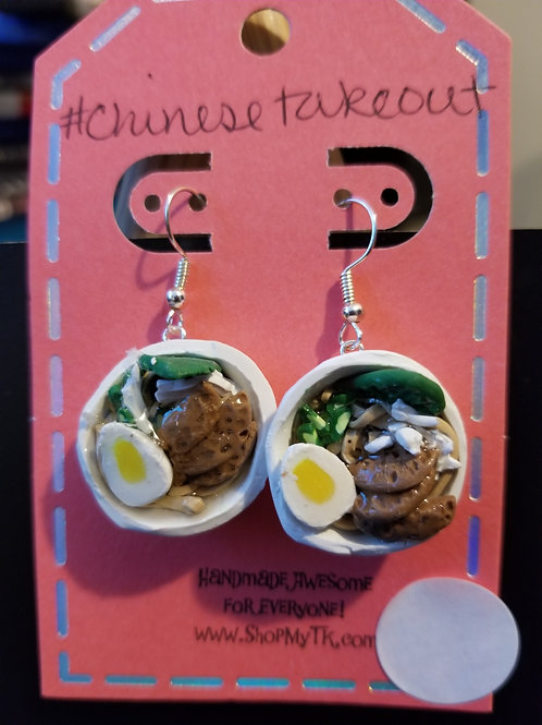 Beef Misu Bowl Earrings