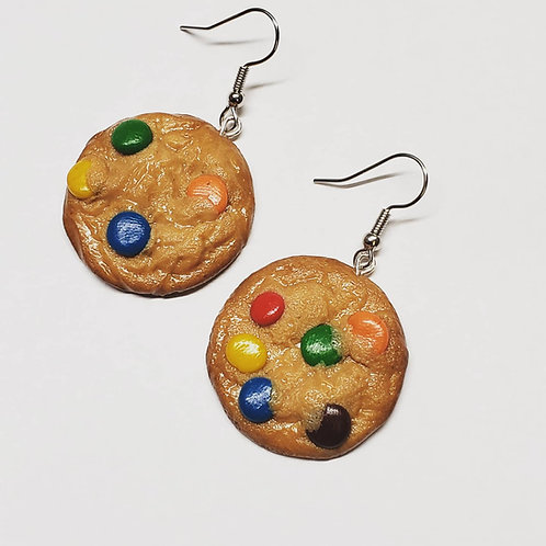 Chocolate Candy Cookie Earrings