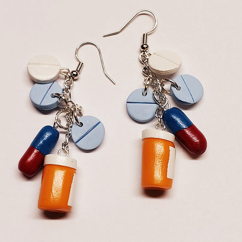 Pharmacology Earrings