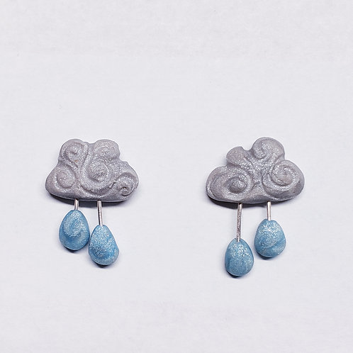 Stormy Cloud Earrings
