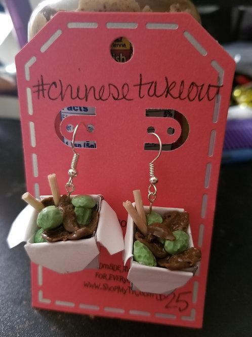 Beef & Broccoli Earrings