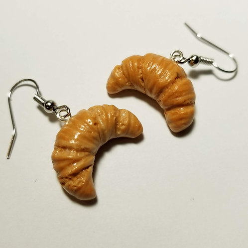 Butter Croissants Drop Earrings