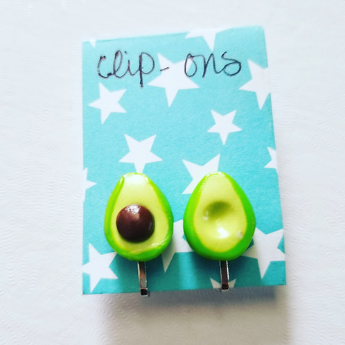 Avocado Clip-Ons