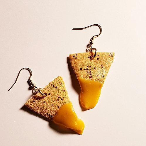 Nacho Cheese Earrings