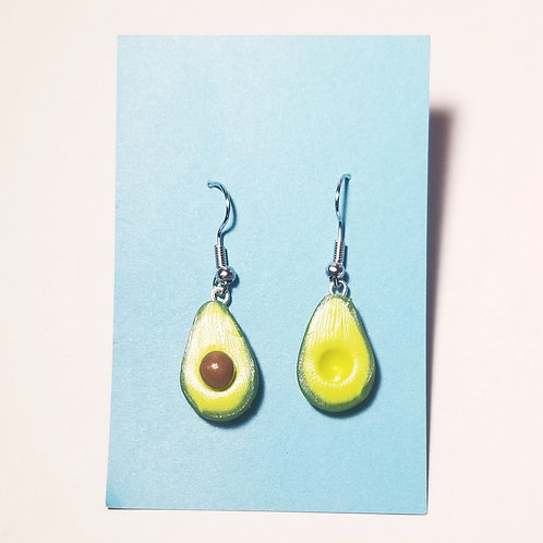 Hanging Out Avocado Earrings