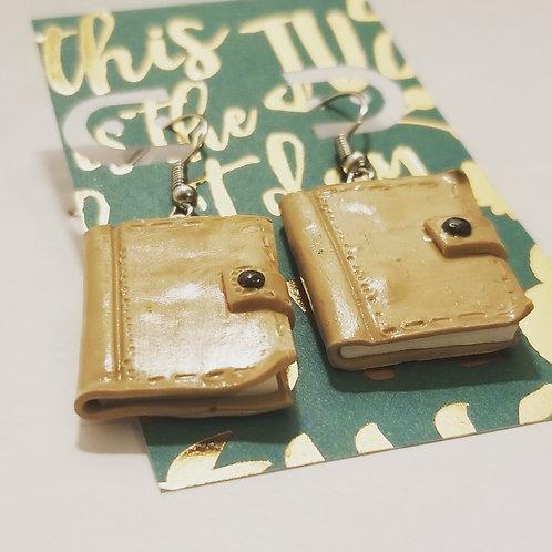 Journal Earrings
