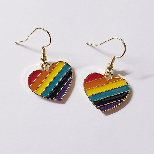 Spectrum of Love Earrings