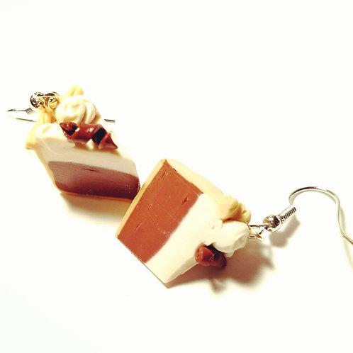 French Silk Pie Earrings