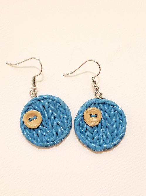 Knitting Circles - Blue