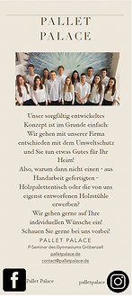 NicoMediaDesign - Flyer PalletPalace