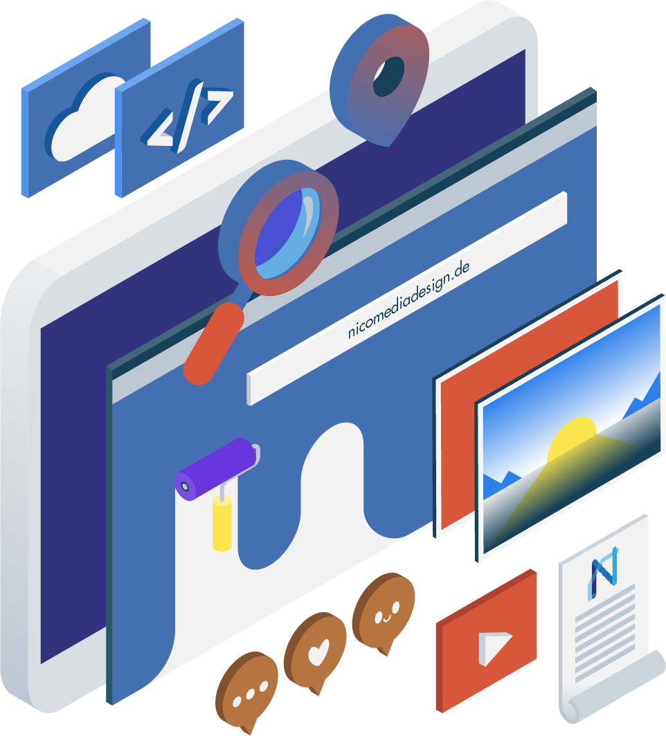 Webdesign, Grafikdesign, Mediendesign - NicoMediaDesign