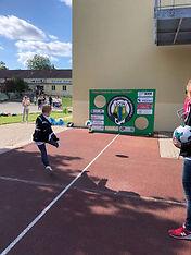 Förderverein Jugendfußball des SCMaisach e.V. - Komplettierung der Torwand
