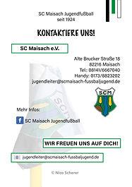 NicoMediaDesign - Flyer SC Maisach e.V.