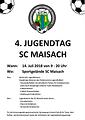 Förderverein Jugendfußball des SCMaisach e.V. - Jugendtag 2018