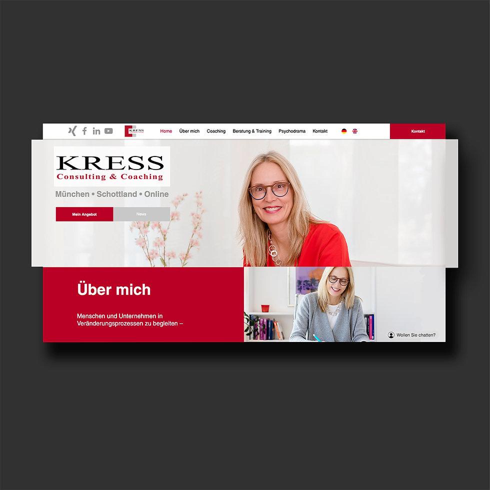 Bärbel Kress Consulting & Coaching - Website - NicoMediaDesign