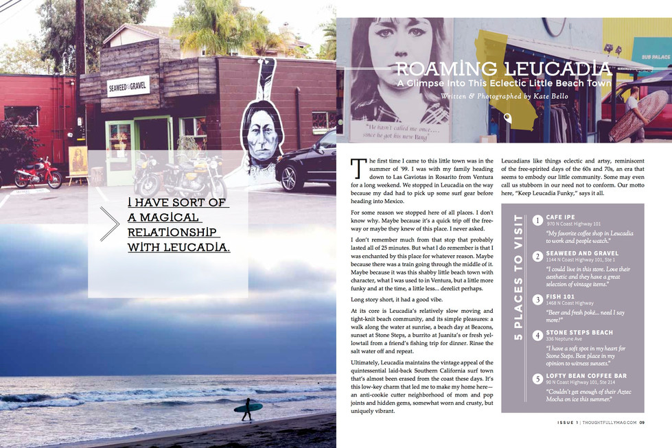 Freelance Writing & Photography